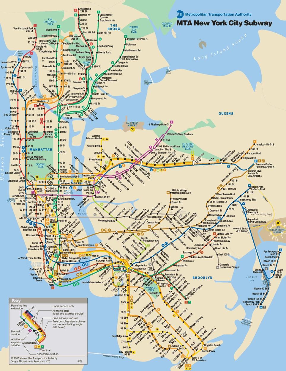 New York City Subway Map 1979.World S Most Intricate Subway Networks Geoengineer Org