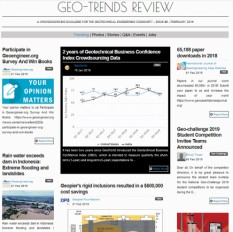 """Geo-Trends Review"" sixth issue is published!"