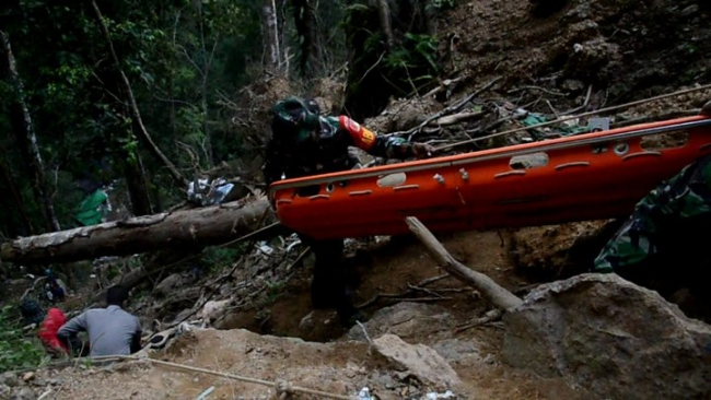 Landslide in Indonesian illegal gold mine Source: BBC