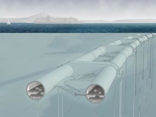 "Norway to achieve ""floating tunnel"" project-Source: CNN.com"