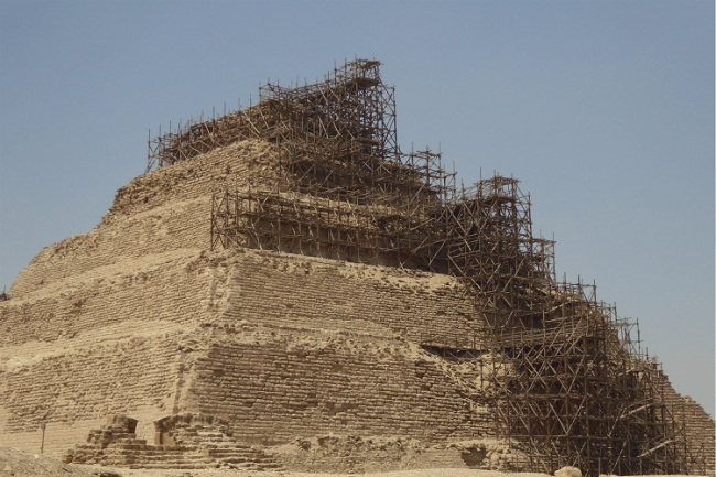 Egypt's oldest pyramid saved from collapse | Geoengineer org