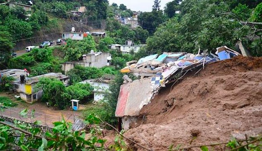 Mudslide In Mexico 7 Fatalities Geoengineer Org