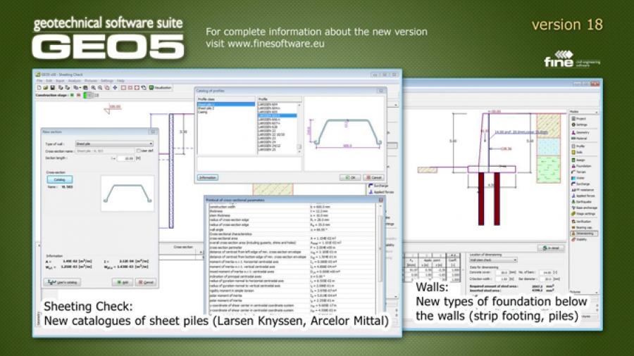GEO5 Version 18 is available | Geoengineer org