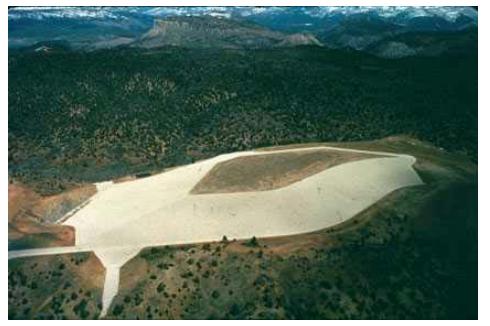 Durango CO UMTRAO site remote disposal cell at Bodo Canyon 1992 Robinson 2004